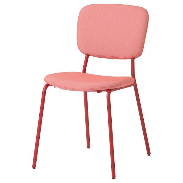 KARLJAN chaise rouge/Kabusa rouge 110 kg 49 cm 55 cm 81 cm 45 cm 40 cm 46 cm