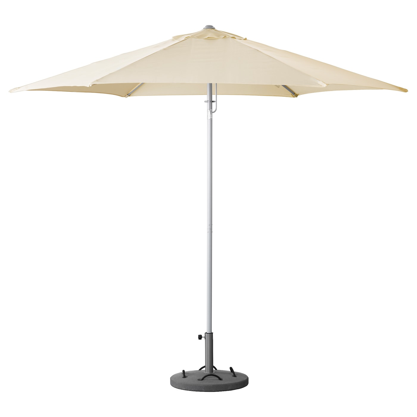 karls parasol avec pied beige l k gris ikea. Black Bedroom Furniture Sets. Home Design Ideas