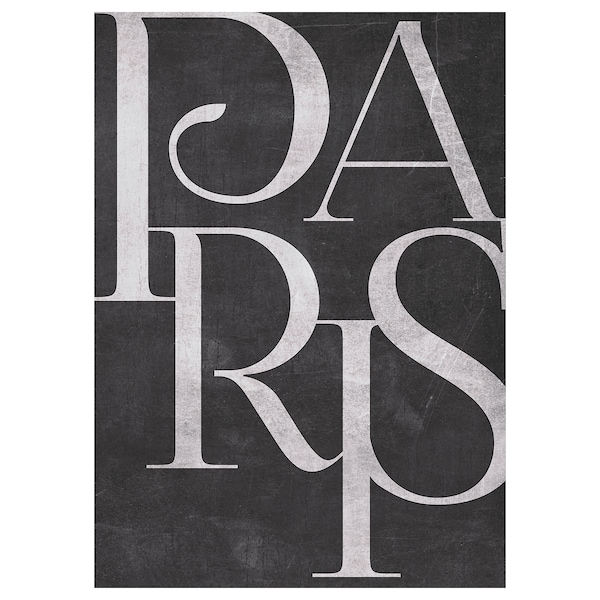 KATEBO Reproduction, Paris rétro, 50x70 cm