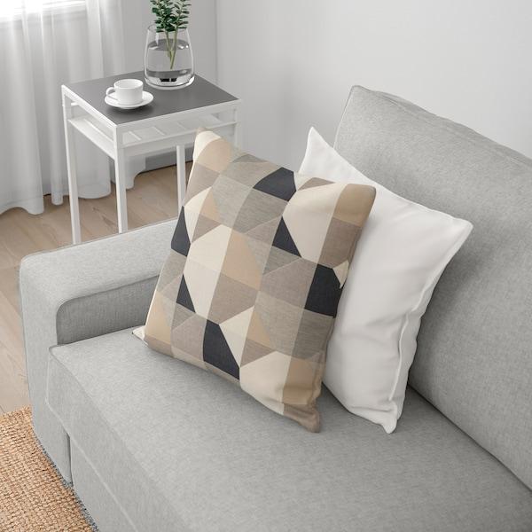 KIVIK Canapé 3 places avec méridienne, Tallmyra blanc/noir
