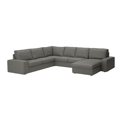Kivik canap d 39 angle 2 2 avec m ridienne avec m ridienne for Ikea canape d angle