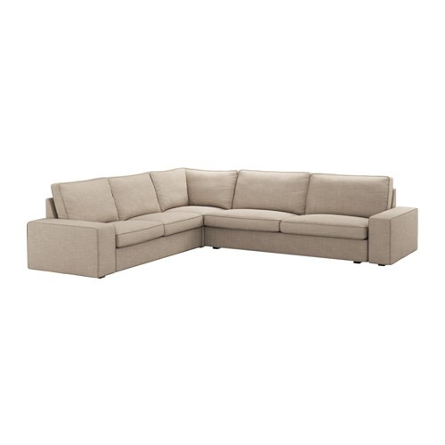 Kivik canap d 39 angle 2 3 3 2 places hillared beige ikea for Canape kivik ikea convertible