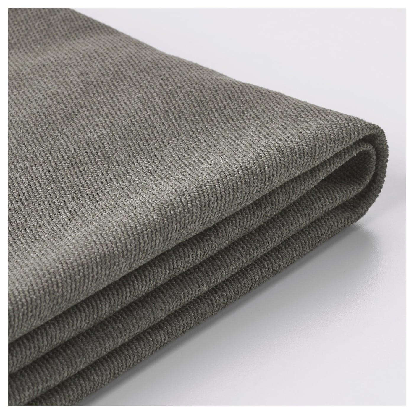 kivik housse de canap 3pla borred gris vert ikea. Black Bedroom Furniture Sets. Home Design Ideas