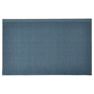KLAMPENBORG Paillasson, intérieur, bleu, 50x80 cm