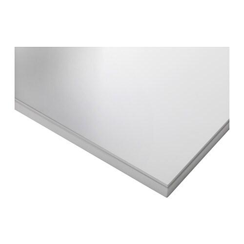 Klimpen plateau blanc ikea - Bureau noir et blanc ikea ...