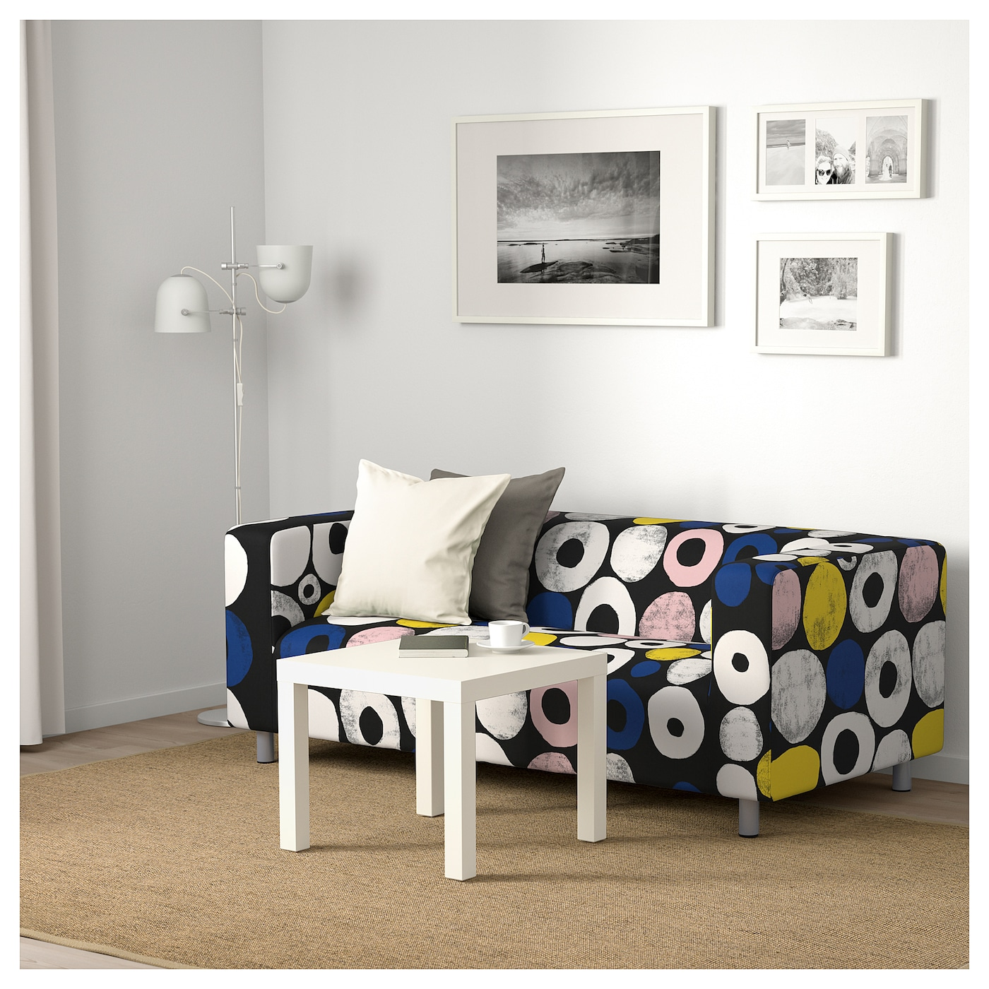 klippan canap 2 places sangis multicolore ikea. Black Bedroom Furniture Sets. Home Design Ideas