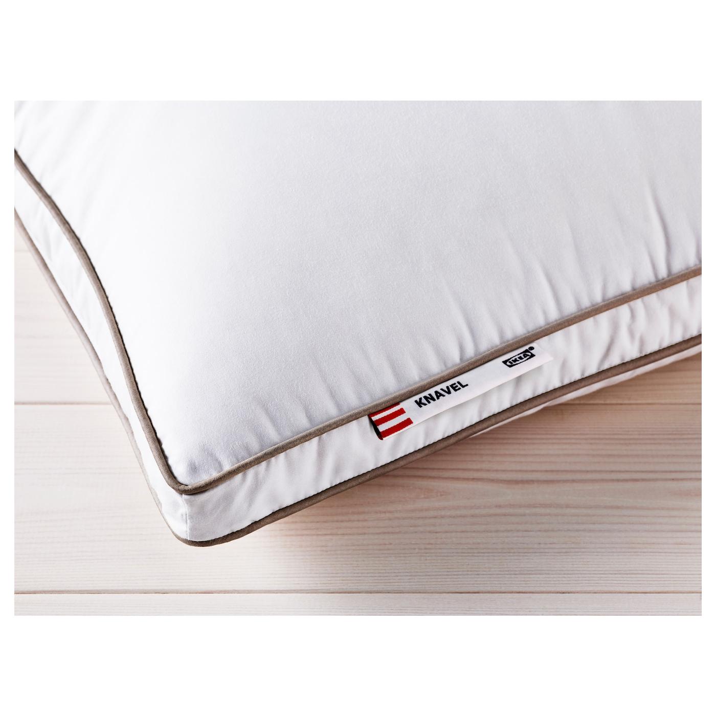 knavel oreiller souple 50x60 cm ikea. Black Bedroom Furniture Sets. Home Design Ideas