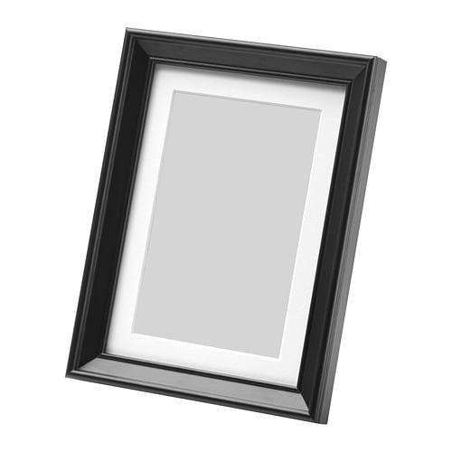 knopp ng cadre noir 13 x 18 cm ikea. Black Bedroom Furniture Sets. Home Design Ideas