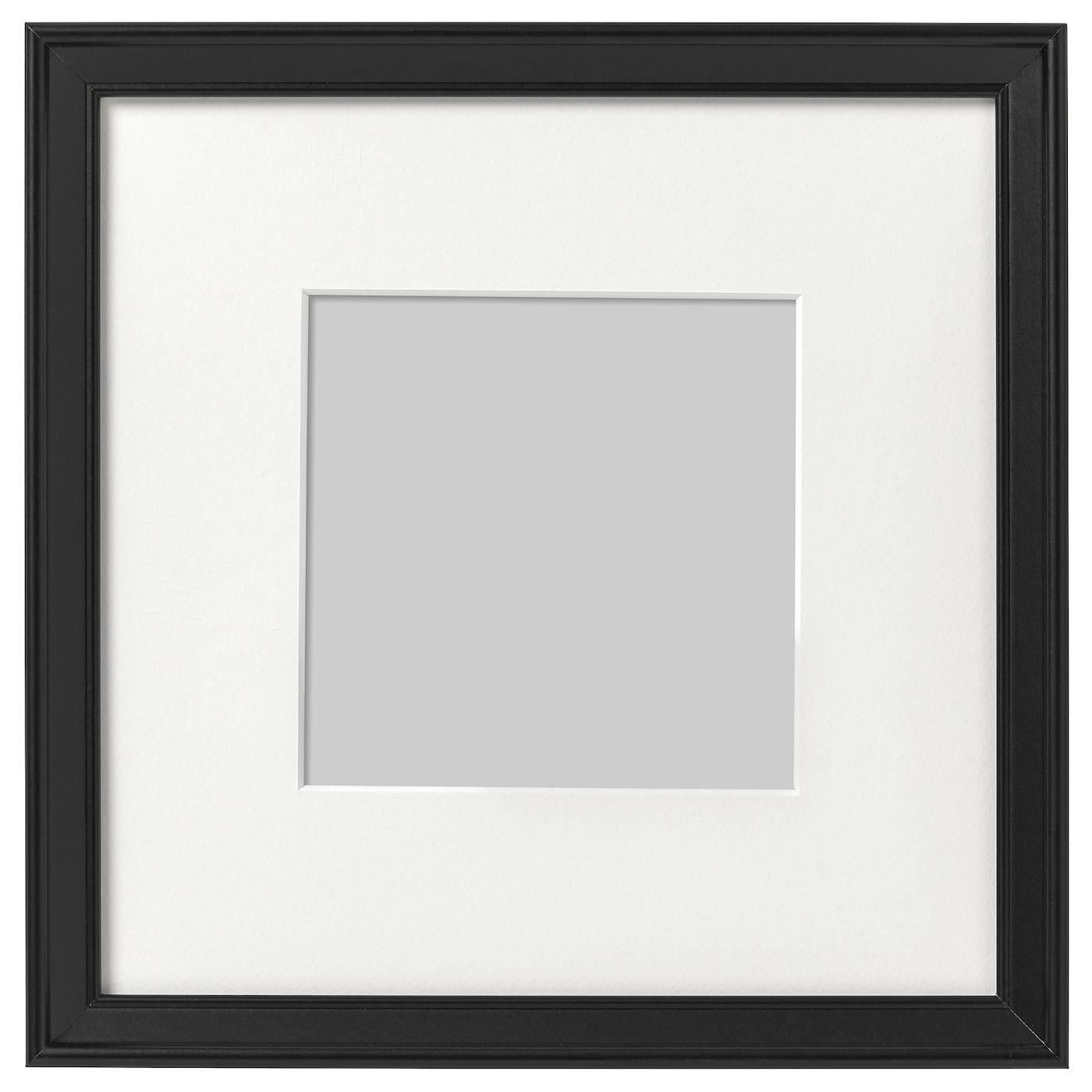 knopp ng cadre noir 23 x 23 cm ikea. Black Bedroom Furniture Sets. Home Design Ideas