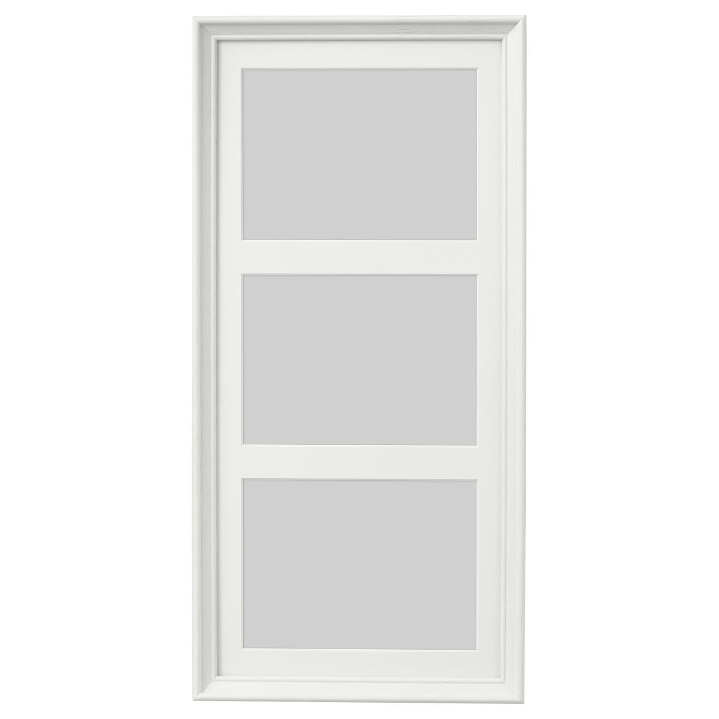 knopp ng cadre pour 3 photos teint blanc 50 x 23 cm ikea. Black Bedroom Furniture Sets. Home Design Ideas