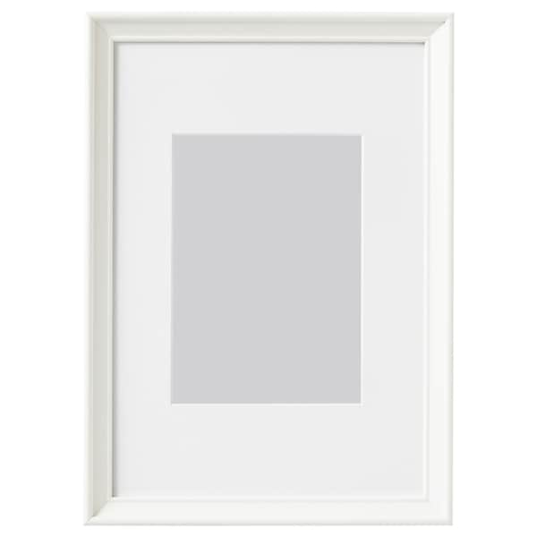 KNOPPÄNG Cadre, blanc, 21x30 cm
