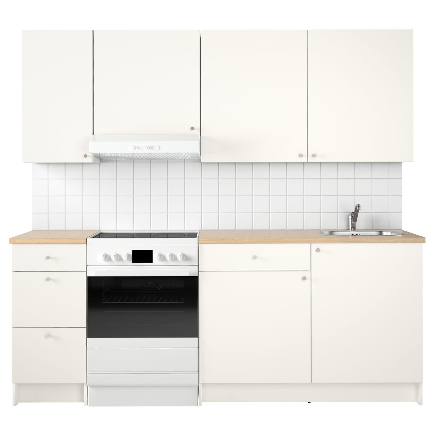 knoxhult cuisine blanc 220x61x220 cm ikea