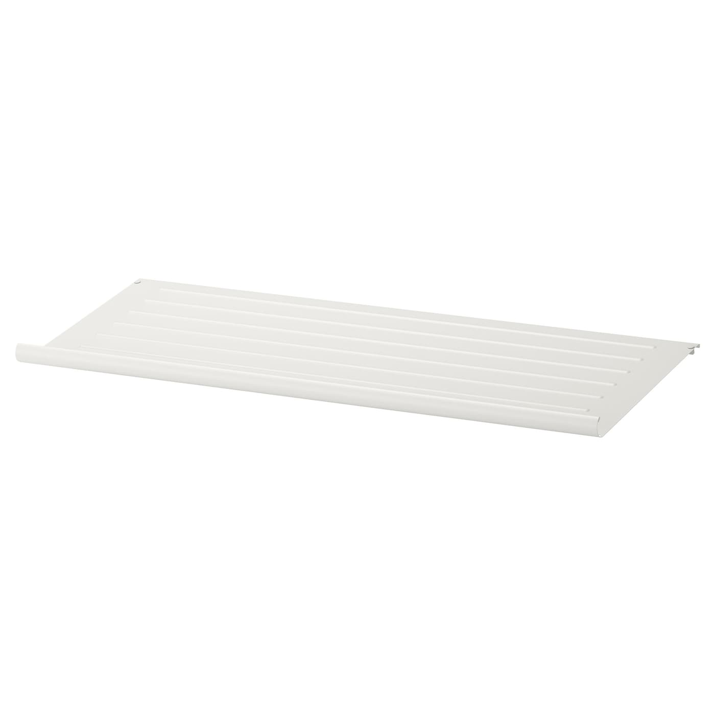Komplement tag re chaussures blanc 100x35 cm ikea - Etagere a chaussures ikea ...