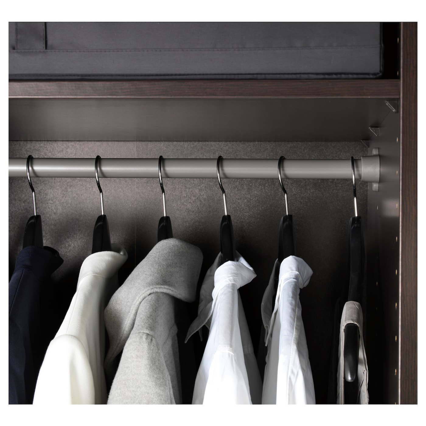 komplement tringle habits gris fonc 100 cm ikea. Black Bedroom Furniture Sets. Home Design Ideas