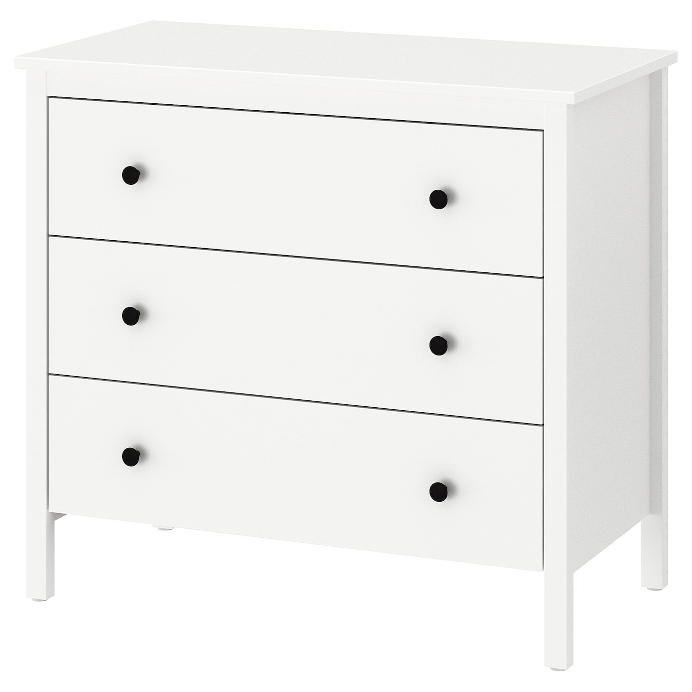 koppang commode 3 tiroirs blanc 90 x 83 cm ikea. Black Bedroom Furniture Sets. Home Design Ideas