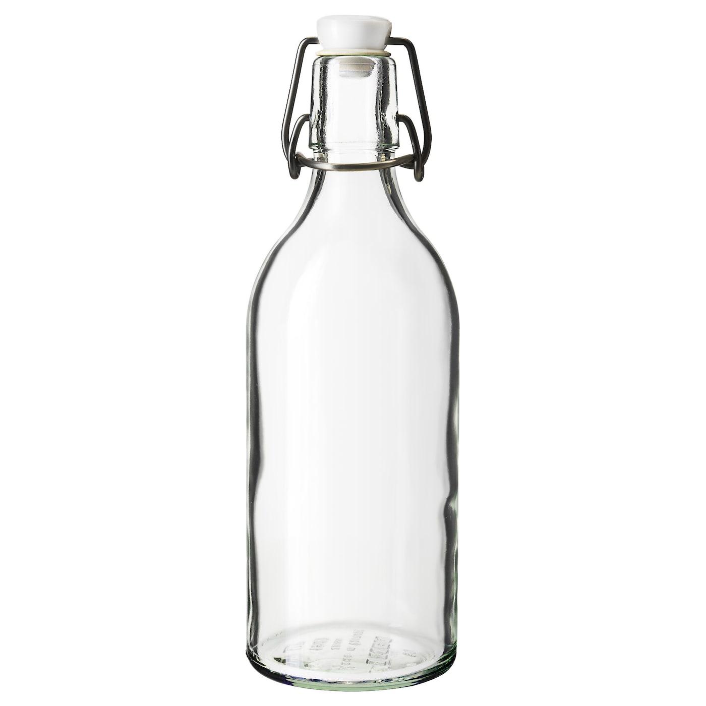 Bouteille En Verre Ikea : korken bouteille avec bouchon verre transparent 0 5 l ikea ~ Teatrodelosmanantiales.com Idées de Décoration