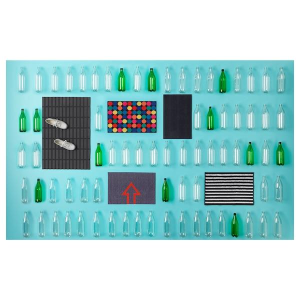 KRISTRUP Paillasson, bleu foncé, 35x55 cm