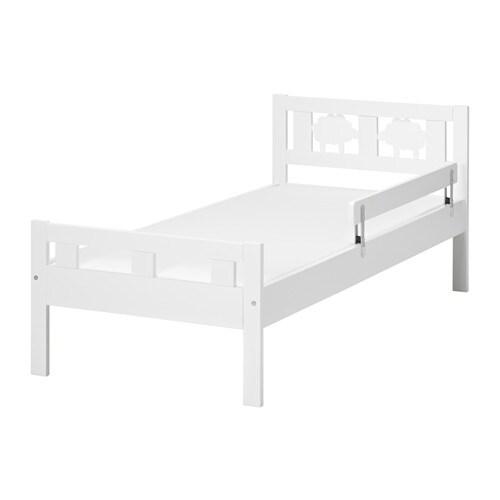 KRITTER Cadre lit+sommier lattes Blanc 70 x 160 cm - IKEA