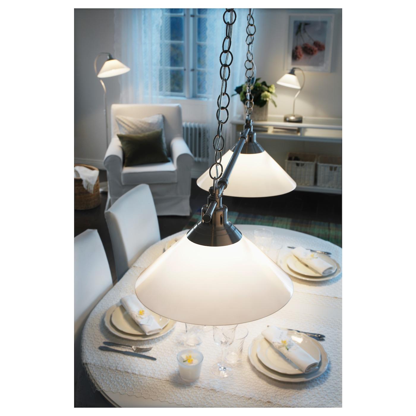 kroby suspension double nickel verre ikea. Black Bedroom Furniture Sets. Home Design Ideas