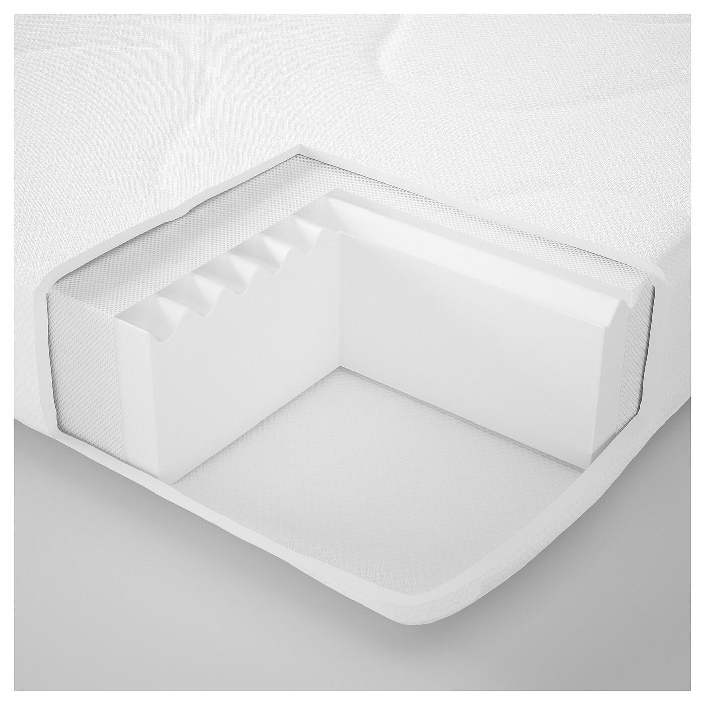 krummelur matelas mousse pour lit b b 60x120x8 cm ikea. Black Bedroom Furniture Sets. Home Design Ideas
