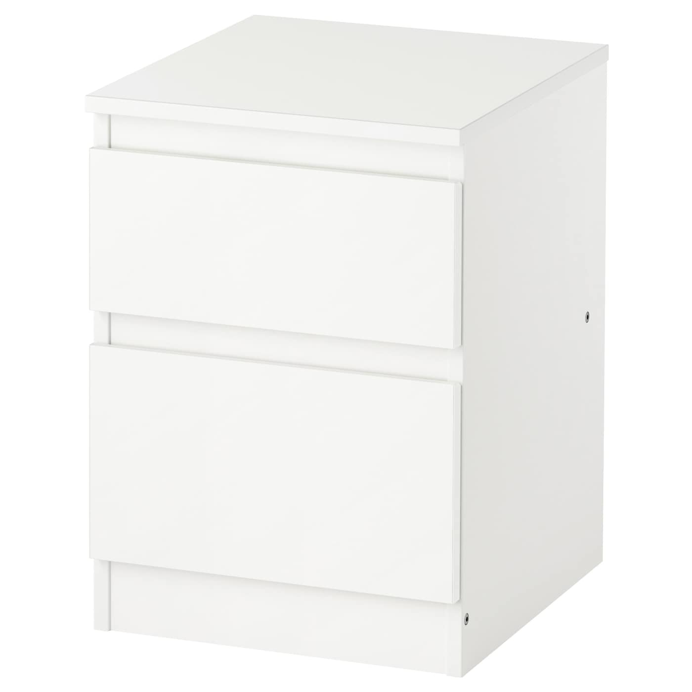 Kullen commode 2 tiroirs blanc 35x49 cm ikea for Ikea blanc commode