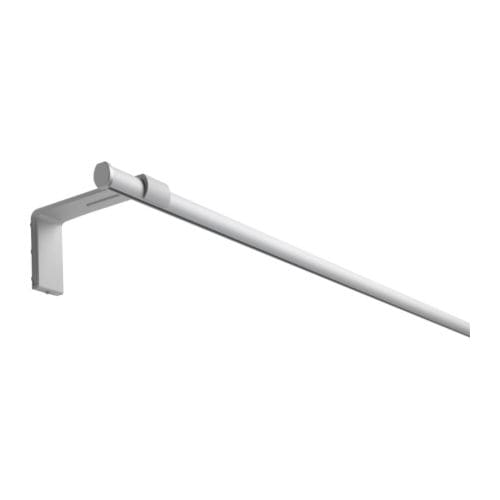 Kvartal rail pour rideau simple ikea - Support tringle rideau ikea ...