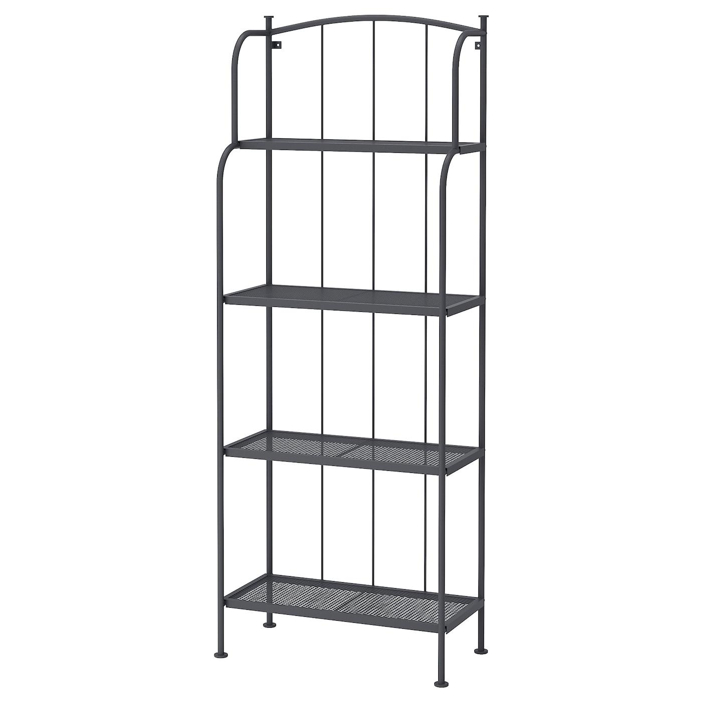 l ck tag re ext rieur gris 61 x 160 cm ikea. Black Bedroom Furniture Sets. Home Design Ideas