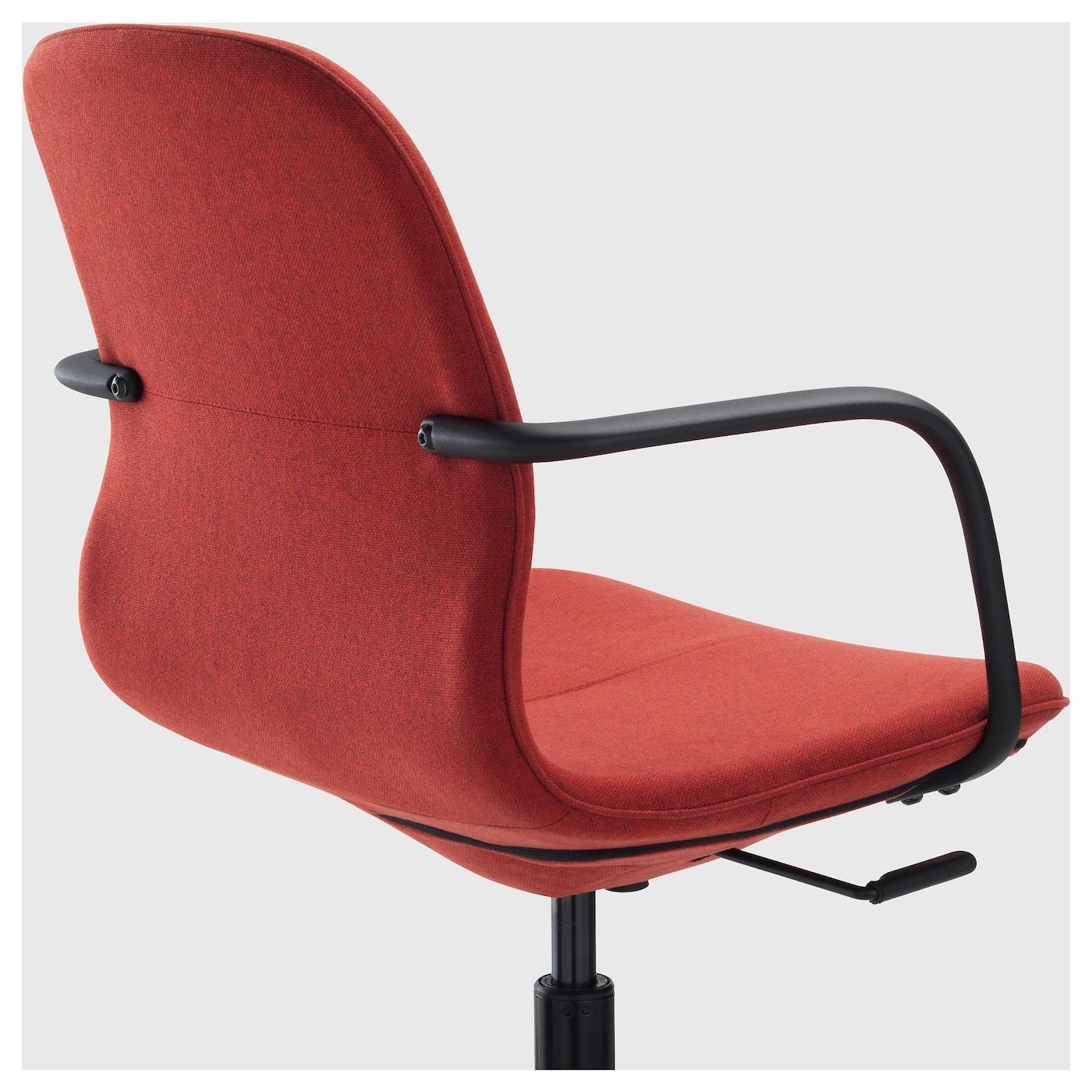 L ngfj ll chaise pivotante gunnared rouille noir ikea for Chaise pivotante