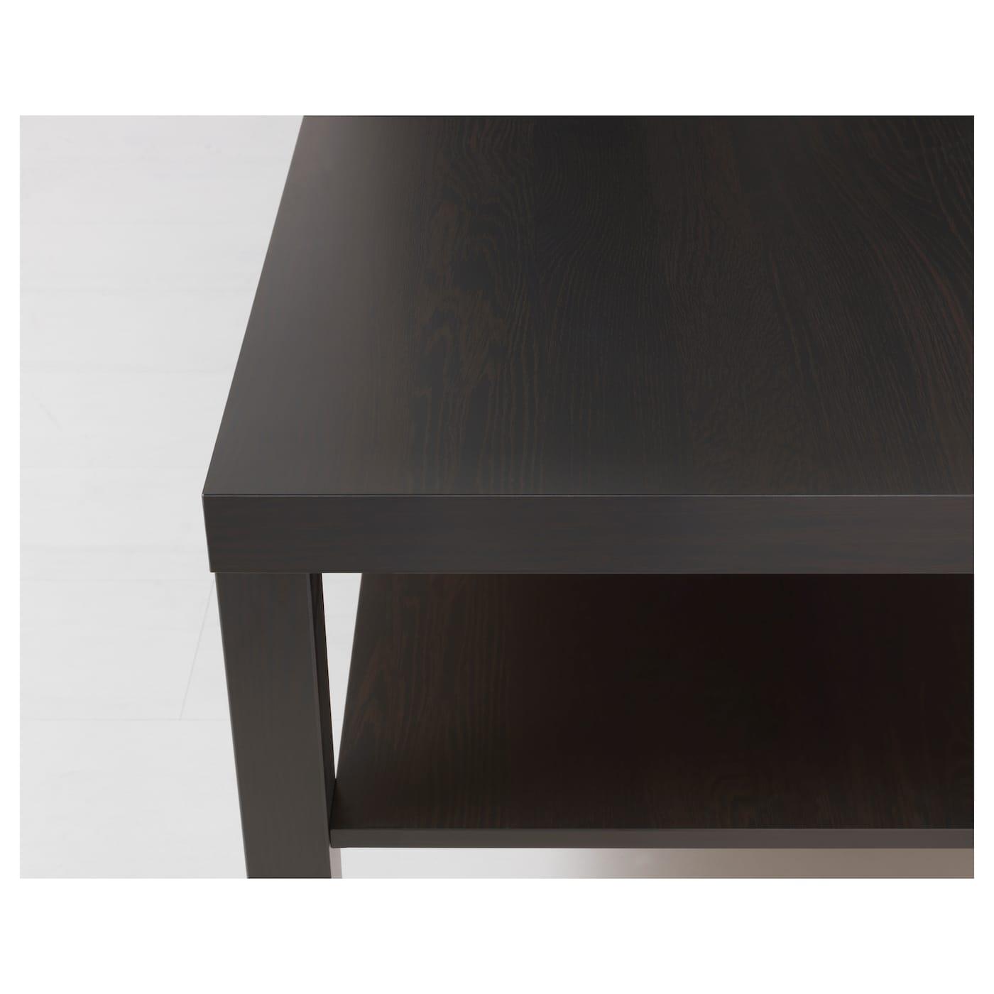 lack table basse brun noir 118x78 cm ikea. Black Bedroom Furniture Sets. Home Design Ideas