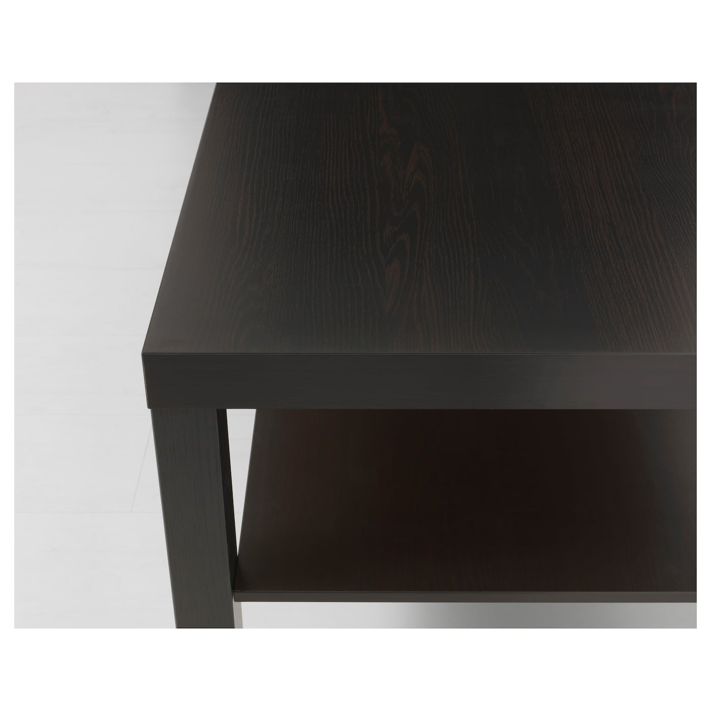 Lack table basse brun noir 90x55 cm ikea - Ikea table noire ...