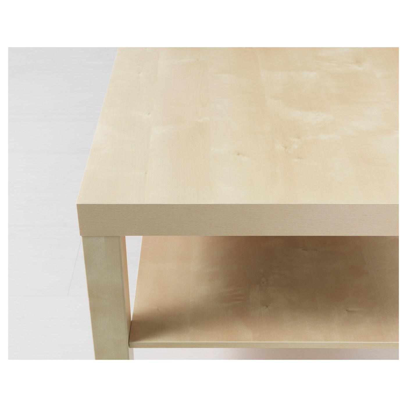 lack table basse motif bouleau 90 x 55 cm ikea. Black Bedroom Furniture Sets. Home Design Ideas