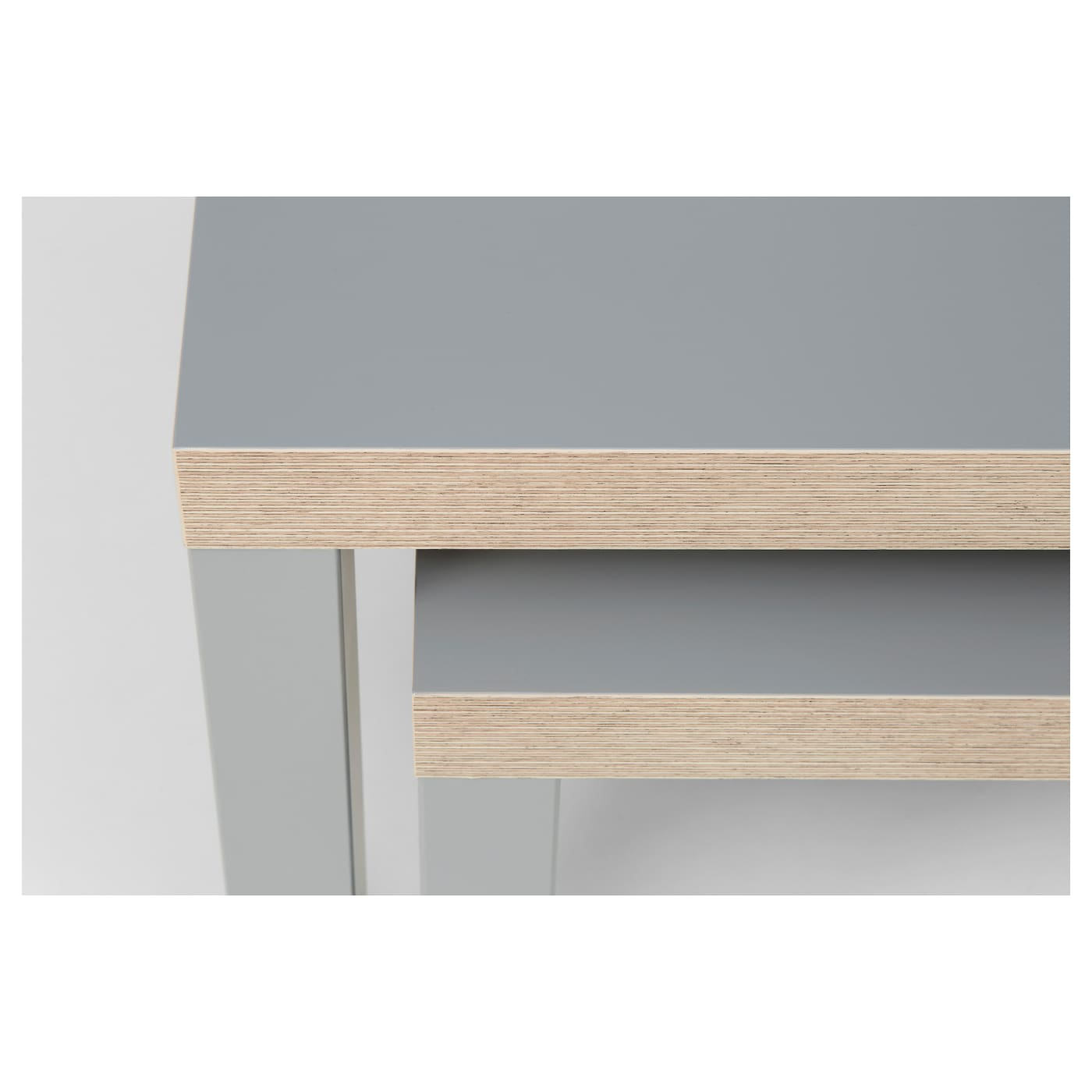 IKEA LACK tables gigognes, lot de 2 Facile à monter. Léger donc facile à déplacer.