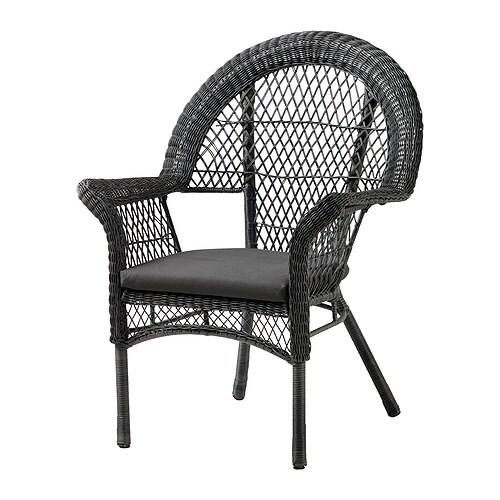 L ck fauteuil avec coussin ext rieur ikea - Coussin exterieur ikea ...