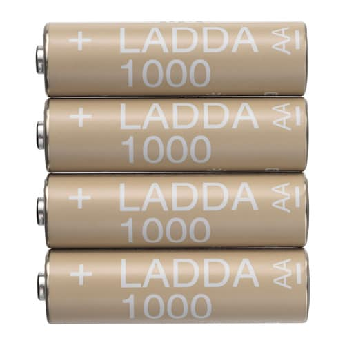 Ladda Pile Rechargeable Hr6 Aa 1 2v Ikea