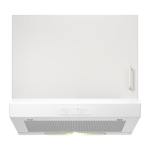 Lagan Hotte Aspirante Murale Blanc  Cm  Ikea