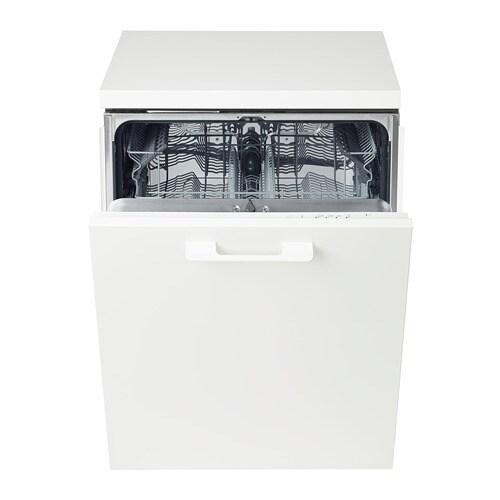 Lagan Lave Vaisselle Encastrable Blanc Ikea