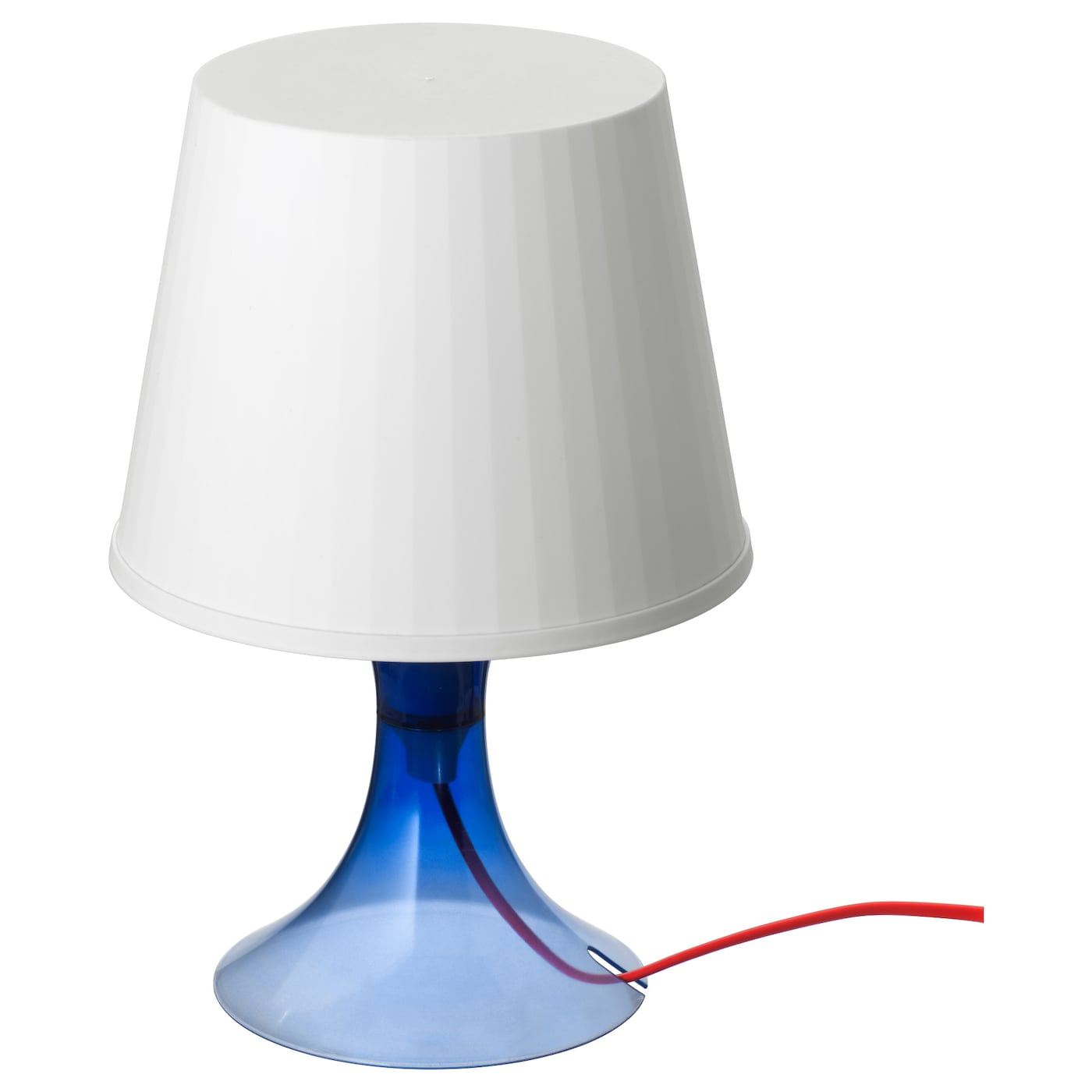 Lampan lampe de table bleu ikea for Base de table ikea