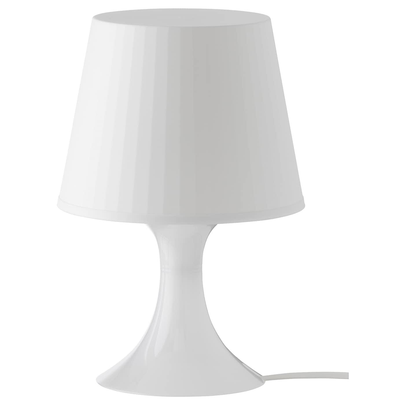 LAMPAN Lampe de table, blanc, 29 cm   IKEA
