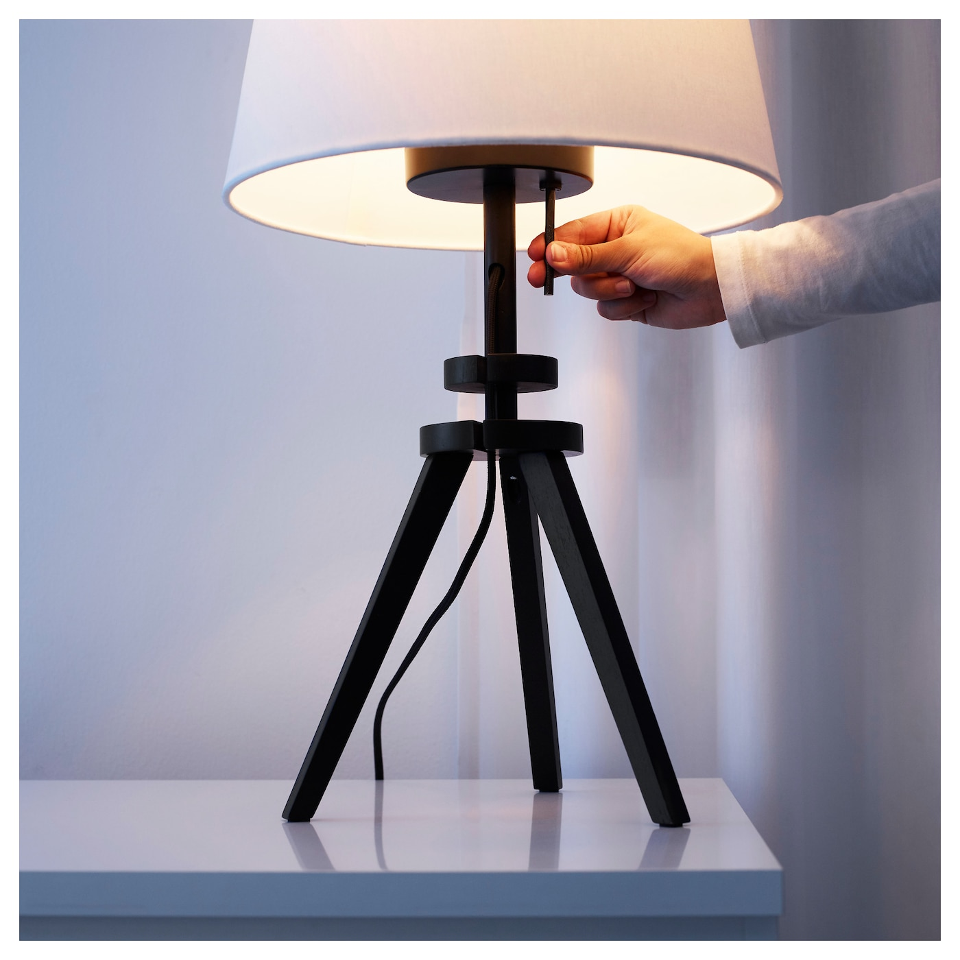 IKEA LAUTERS pied de lampe de table