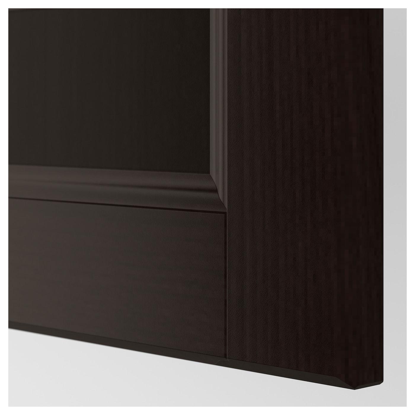 laxarby face de tiroir brun noir 60x40 cm ikea. Black Bedroom Furniture Sets. Home Design Ideas