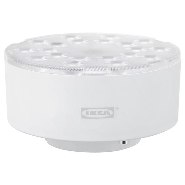 LEDARE Ampoule à LED GX53 600 lumens, lumière chaude/angle de faisceau réglable