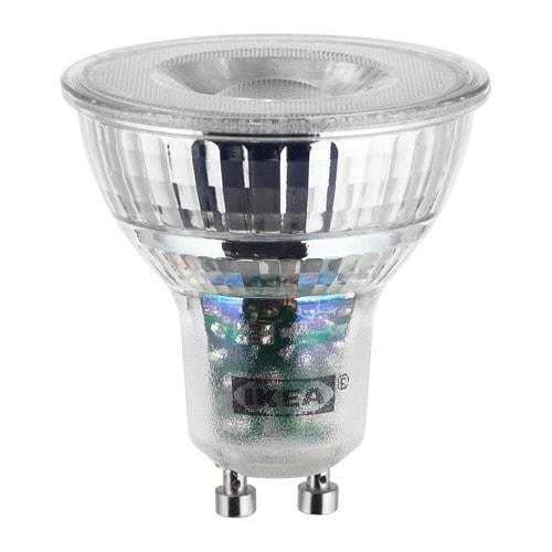Ledare Ampoule Led Gu10 400 Lumen Lumiere Chaude Ikea