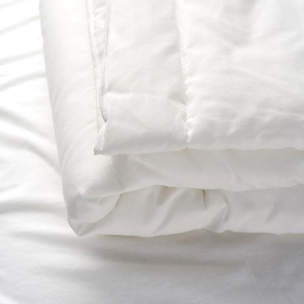 LEN Couette pour lit bébé, blanc, 110x125 cm