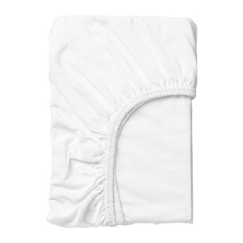 LEN Drap housse Blanc 70 x 160 cm   IKEA