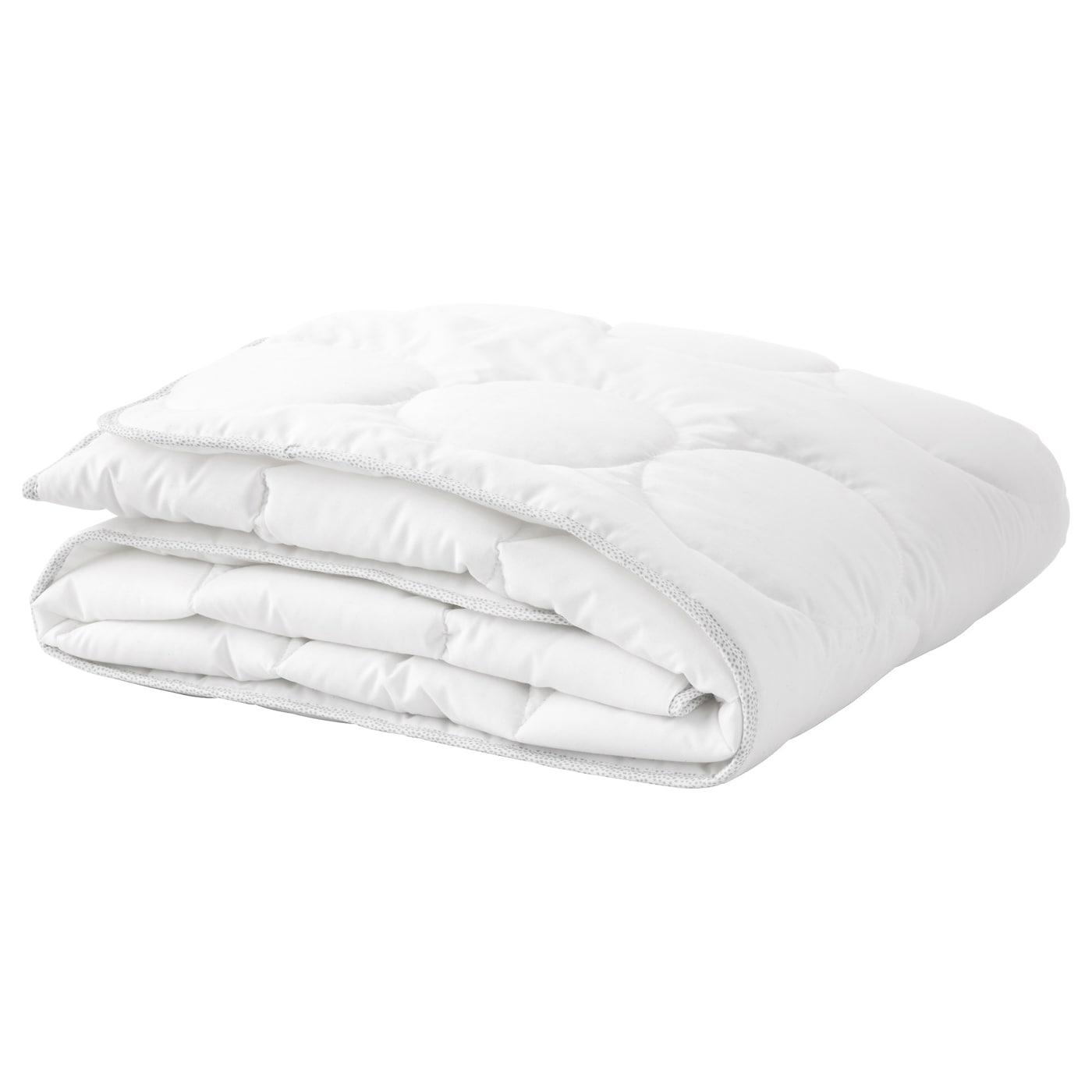 lenast couette pour lit b b blanc gris 110x125 cm ikea. Black Bedroom Furniture Sets. Home Design Ideas