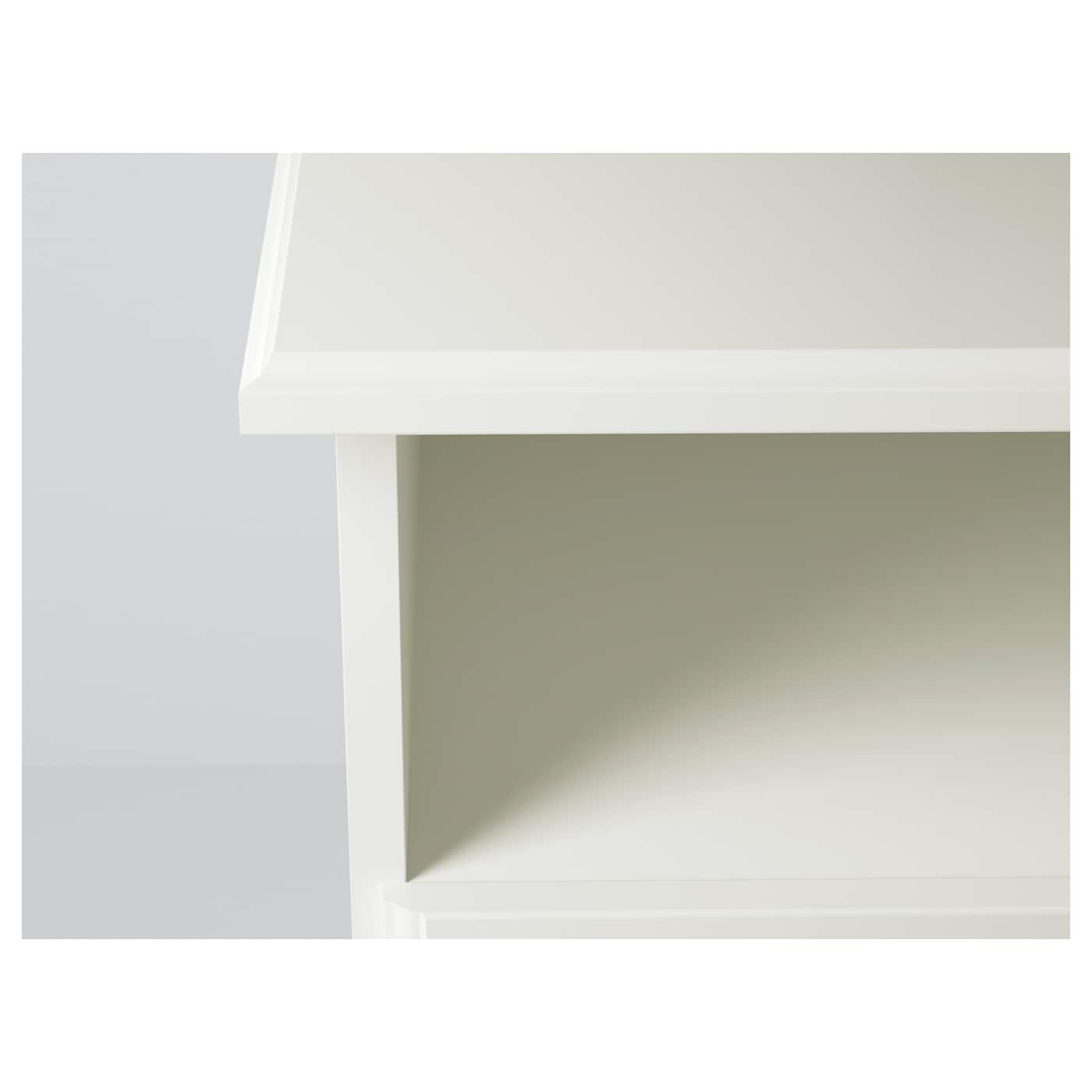Liatorp banc tv blanc 145x49x45 cm ikea for Banc blanc ikea
