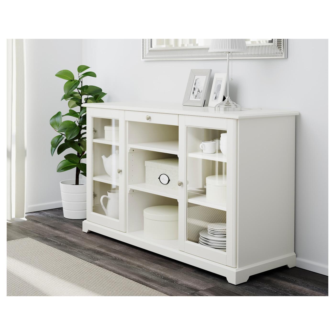 liatorp buffet blanc 145x87 cm ikea. Black Bedroom Furniture Sets. Home Design Ideas