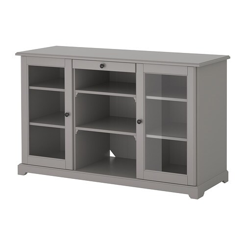 Liatorp buffet gris ikea for Meuble bureau zaventem