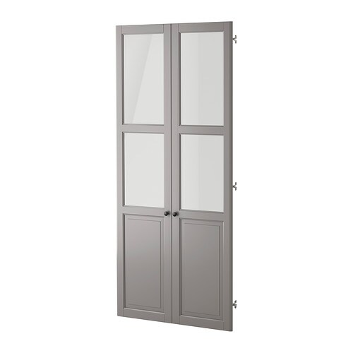 Liatorp panneau porte vitr e gris ikea - Porte parapluie chez ikea ...