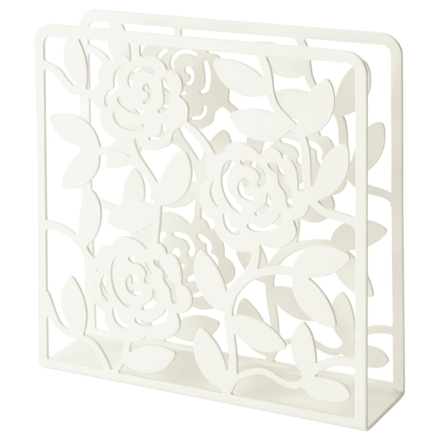 Liksidig Porte Serviettes Blanc 16x16 Cm Ikea